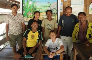 Cunningham-with-a-fishermen's-collective-on-the-island-of-Kaledupa-in-Sulawesi